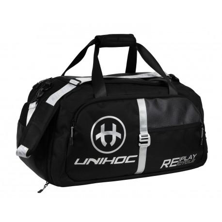 UNIHOC Gearbag Re/Play Line Medium Black
