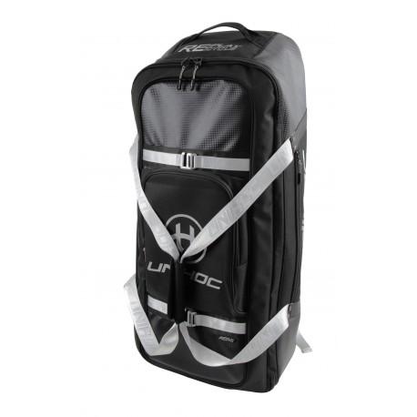UNIHOC Goalie Backpack Re/Play Line Large Black