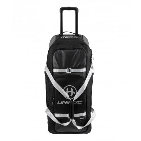 UNIHOC Goalie Bag Re/Play Line Large (With Wheels) Black