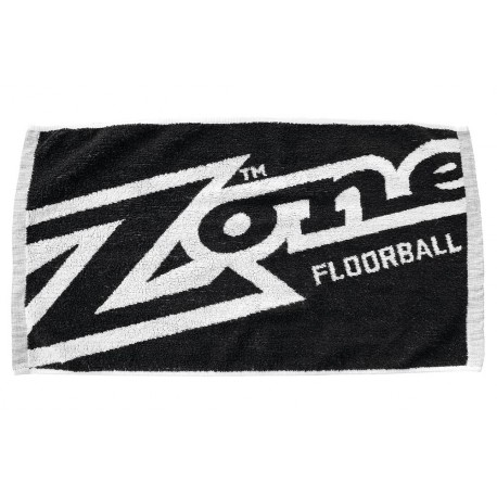 ZONE Towel MEGA black/white