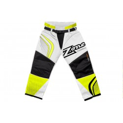 ZONE Goalie pants ICON MEGA white/neon yellow/black