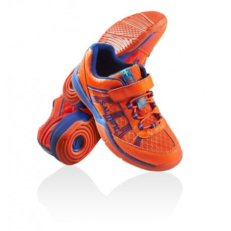 SALMING Viper Kid Velcro Orange