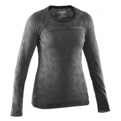 Running Long Sleeve Top Women Grey