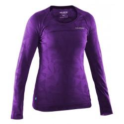 Running Long Sleeve Top Women Purple