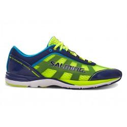 Běžecké boty Salming Distance 3 Men Navy/Safety Yellow.