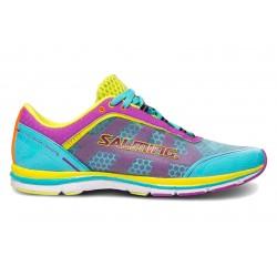 Běžecké boty Salming Speed 3 Women Turquoise/Purple.