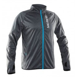 Běžecká bunda Salming Jacket Men Grey.