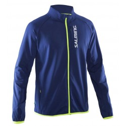 Běžecká bunda SALMING Run Thermal Jacket Men Navy.
