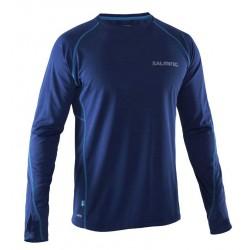Běžecké triko s dlouhým rukávem SALMING Running LS Tee Men Navy.