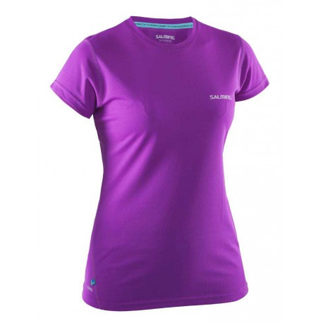 Run Tee Women Purple