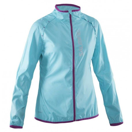 Running Ultralite Jacket Women Turquoise
