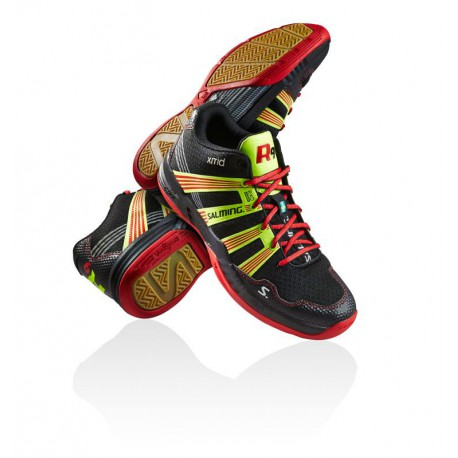 SALMING Race R9 MID 2.0 Black/Red