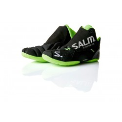 SALMING Slide 4 Goalie Shoe Black/Green