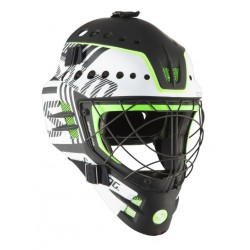 SALMING Travis Elite Helmet White/Gecko Green
