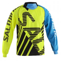 SALMING Travis Goalie Jersey Yellow/Blue
