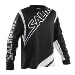 SALMING Phoenix Goalie Jersey Black/White JR