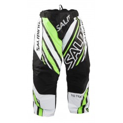SALMING Phoenix Goalie Pants White/Green JR