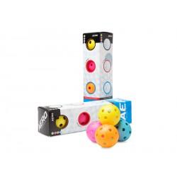 SALMING Aero Ball Colour Mix 4-pack