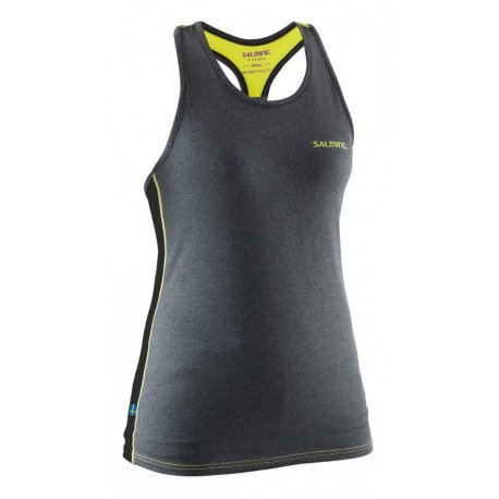 Run T-Back Tanktop Women Grey