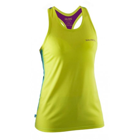 Run T-Back Tanktop Women Lime