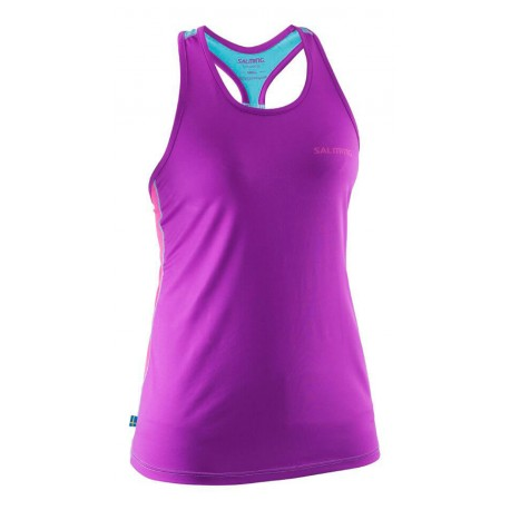 Run T-Back Tanktop Women Purple