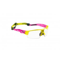 ZONE Eyewear Zone-Eye Matrix kids pink/neon yellow