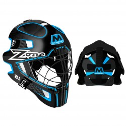 ZONE Goalie mask MONSTER 2.1 black/turquoise