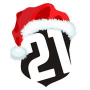 Vánoční logo Jednadvacítka