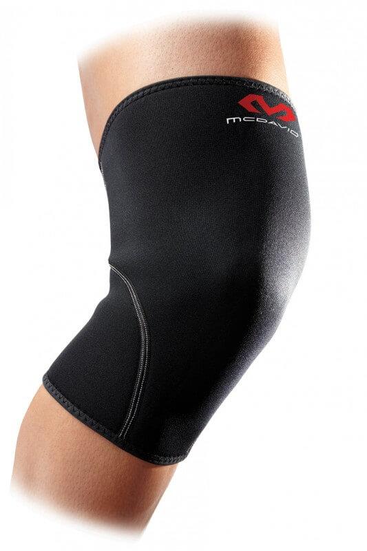 Příklad typu ortézy návlek - kolenní návlek