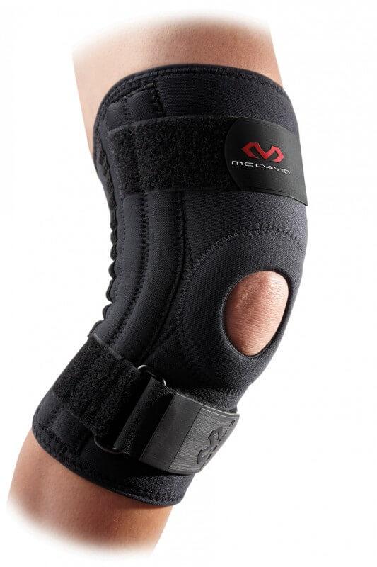 Příklad typu ortézy zpevňující - kolenní ortéza