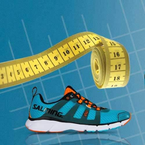 Velikostní tabulky běžecký bot